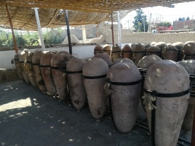 Some more pisco casks